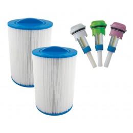 Pack de filtros y aroma spa exterieur