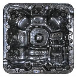 spa jacuzzi du extérieur SPAtec 950B noir